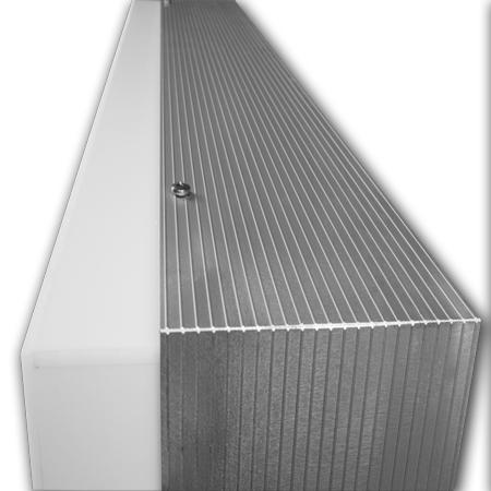 wand leuchtkasten mit haube einseitig led preis g nstig kaufen. Black Bedroom Furniture Sets. Home Design Ideas
