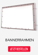 Bannerrahmen Made in Germany
