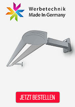 Lichtleisten für Fassadenwerbung Made in Germany