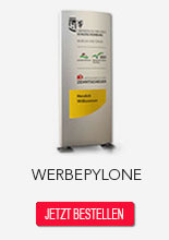Werbepylone Made in Germany