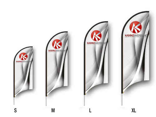Beachflag Knife Set (2340 mm x 700 mm)
